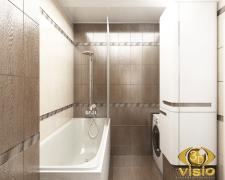 3D-визуализация ванной в квартире Греции